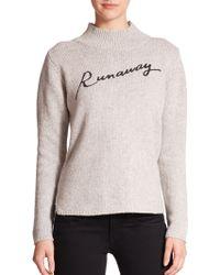 "Townsen - Runaway"" Mockneck Sweater - Lyst"