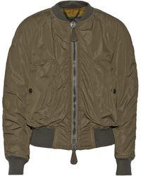 Burberry Prorsum Khaki Shell Jacket - Lyst