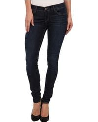 True Religion Casey Low-Rise Super Skinny In Picasso Blues - Lyst
