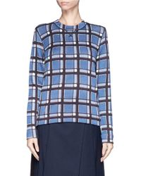 Marc By Marc Jacobs - Toto' Check Print Sweatshirt - Lyst