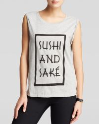 Mink Pink Tank - Sushi and Sake - Lyst