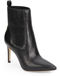 Via Spiga Corene Leather Ankle Boots - Lyst
