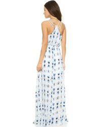 BB Dakota - Mala Batik Printed Maxi Dress - Mala - Lyst