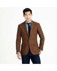 J.Crew Ludlow Sportcoat in Heathered English Wool - Lyst