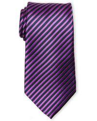 Guy Laroche - Silk Contrast Pattern Tie - Lyst