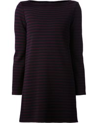 The Row Striped Dress - Lyst