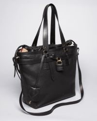 Burberry Brit - Tote Leather Medium Traveler - Lyst 5eeee10d5d