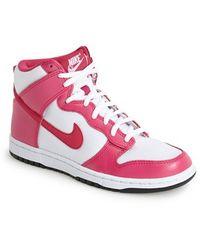 Nike 'Dunk High Skinny' Sneaker - Lyst