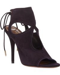 Aquazzura Sexy Thing Booties - Lyst