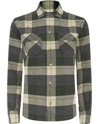 Ralph Lauren Blue Label Esme Plaid Shirt - Lyst