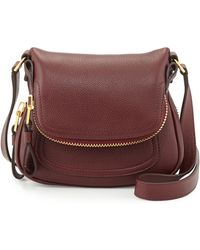 Tom Ford Jennifer Mini Calfskin Crossbody Bag - Lyst