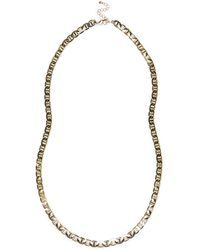 River Island Gold Tone Simple Chain Necklace - Lyst