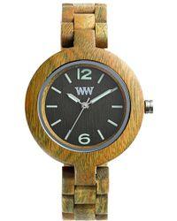 WeWood | 'mimosa' Wood Bracelet Watch | Lyst