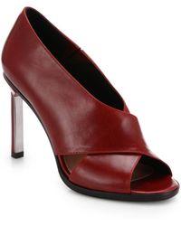 Derek Lam Trey Leather Sandals - Lyst