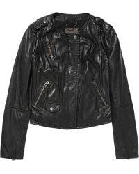 Muubaa Ramu Leather Jacket - Lyst