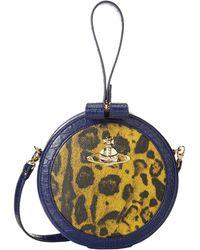 Vivienne Westwood Jungle Leopard Round Wristlet - Lyst