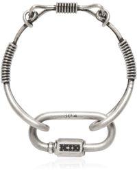 KTZ - Vintage Effect Metal Bracelet - Lyst