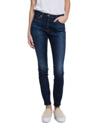 3x1 W3 High Rise Regular Skinny Jean - Lyst