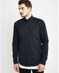 Only & Sons | Mens Long Sleeve Shirt Black | Lyst