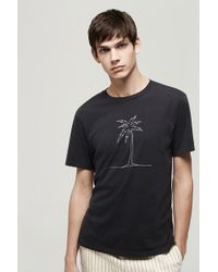 Rag & Bone Palm Tee - Lyst