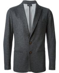 Giorgio Armani Jersey Jacket - Lyst