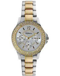 Style & Co. - Style&co. Watch, Women's Two-tone Bracelet 36mm Sc1401 - Lyst
