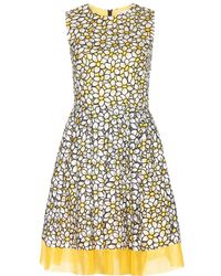 RED Valentino Embroidered Dress - Lyst