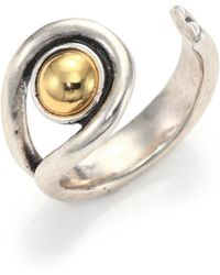 Giles & Brother | Single Ball Wrap Ring | Lyst