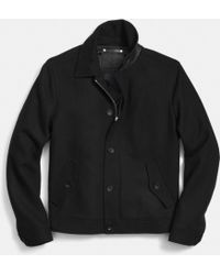 Coach Wool Eisenhower Jacket - Lyst