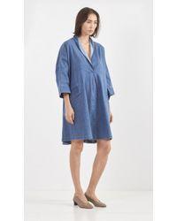 Rachel Comey Tobes Dress blue - Lyst