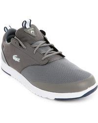 Lacoste L.Ight 2.0 Grey Logo Sneakers - Lyst