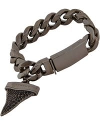 Givenchy Shark Tooth Pendant Bracelet - Lyst