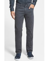 J Brand 'Kane' Slim Fit Cotton Twill Pants - Lyst