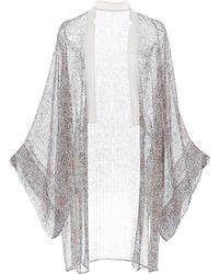 Veronique Branquinho - Sheer Floral Kimono - Lyst