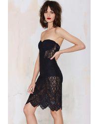 Nasty Gal For Love & Lemons Midnight Lace Dress - Black - Lyst