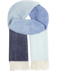 Paul Smith Black Label - Fading Lambswool Scarf - Lyst