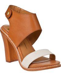 Dolce Vita Gwendolyn Sandal Tan Leather - Lyst