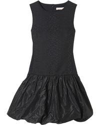 Rebecca Taylor Cloque  Taffeta Dress - Lyst
