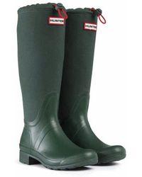 Hunter Original Packable Canvas Tour Rain Boots - Lyst