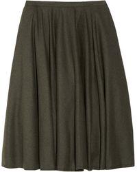 McQ by Alexander McQueen Woolblend Flannel Skirt - Lyst