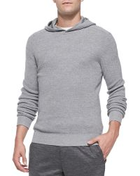 Theory Dami Hooded Pullover Sweater - Lyst