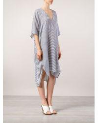 Zero + Maria Cornejo - Striped Kaftan Dress - Lyst