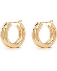 St. John - Twin Tubular Earrings - Lyst