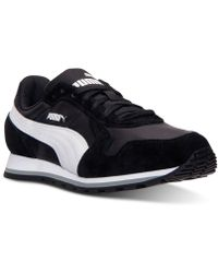 Puma Mens St Runner Nylon Casual Sneakers From Finish Line - Lyst