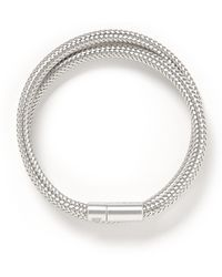 Tateossian 'Soho' Copper Double Wrap Bracelet - Lyst