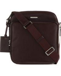 Michael Kors Bordeaux Maya Leather Flight Bag Red - Lyst