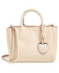 Ferragamo 'Mini Nolita' Leather Satchel - Lyst