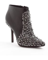 Vera Wang Lavender Beacon Leather Ankle Boots - Lyst