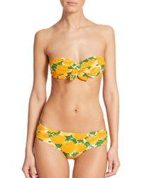 Michael Kors Two-Piece Bandeau Bikini multicolor - Lyst