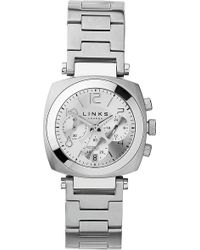 8061cb95d Givenchy Five Stainless Steel Chronograph Watch in Metallic for Men - Lyst